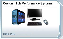 Custom high performance computer systems